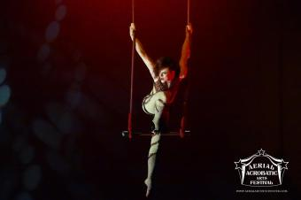Aerial Acrobatic Arts Festival - July 2015 - Photo by David Mitchell