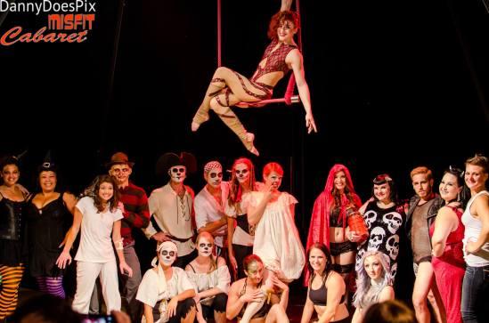 Misfit Cabaret - October 2015